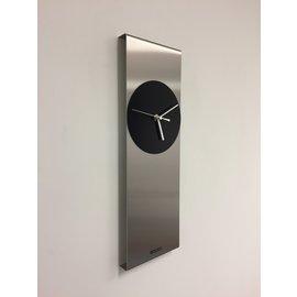 Klokkendiscounter Wanduhr Cassiopee Schwarz Kreis Modern Dutch Design