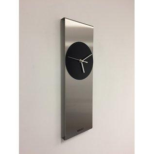 ChantalBrandO Wandklok Cassiopee Black Circle Modern Dutch Design