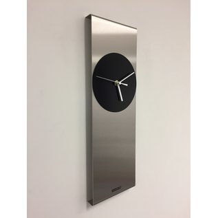 Klokkendiscounter Wandklok Cassiopee Black Circle Modern Dutch Design