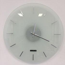 Klokkendiscounter Wanduhr POLARWEISS modernes Design