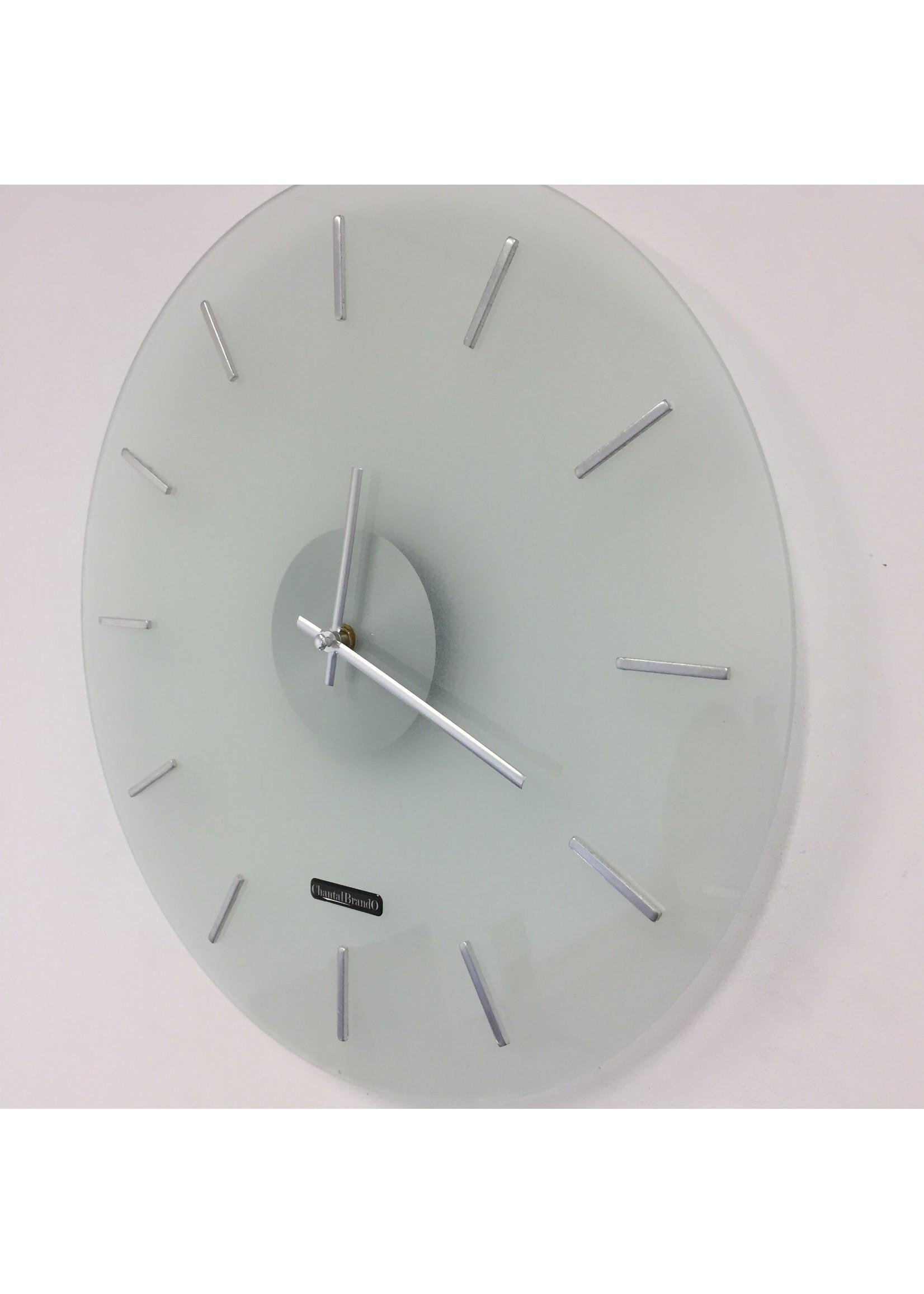 Klokkendiscounter Wandklok POLAR WHITE modern design