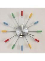 Klokkendiscounter Wanduhr RAINBOW modernes Design