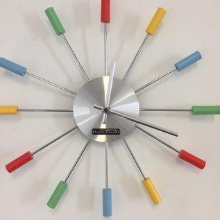 Klokkendiscounter Wanduhr RAINBOW modern design