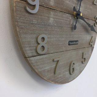 Klokkendiscounter Wanduhr Barn Wood /La Grange Vintage Design