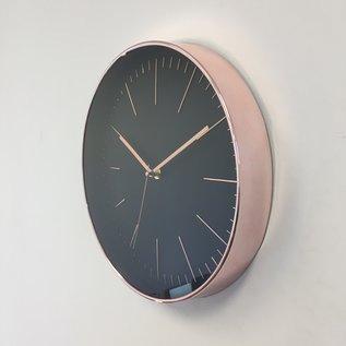 Saramax Wanduhr COPPER ROSE Modern Design