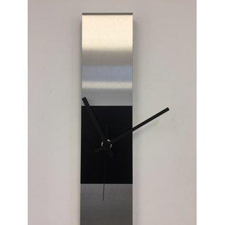 Klokkendiscounter Wanduhr SUMMIT BLACK SQUARE MODERN DUTCH DESIGN