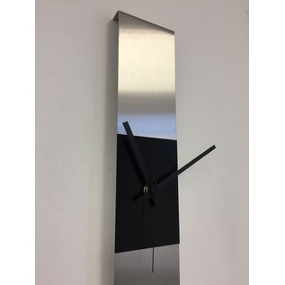 ChantalBrandO Wandklok SUMMIT BLACK SQUARE MODERN DUTCH DESIGN