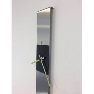 Klokkendiscounter Wanduhr SUMMIT BLACK & GREEN Modern Dutch Design