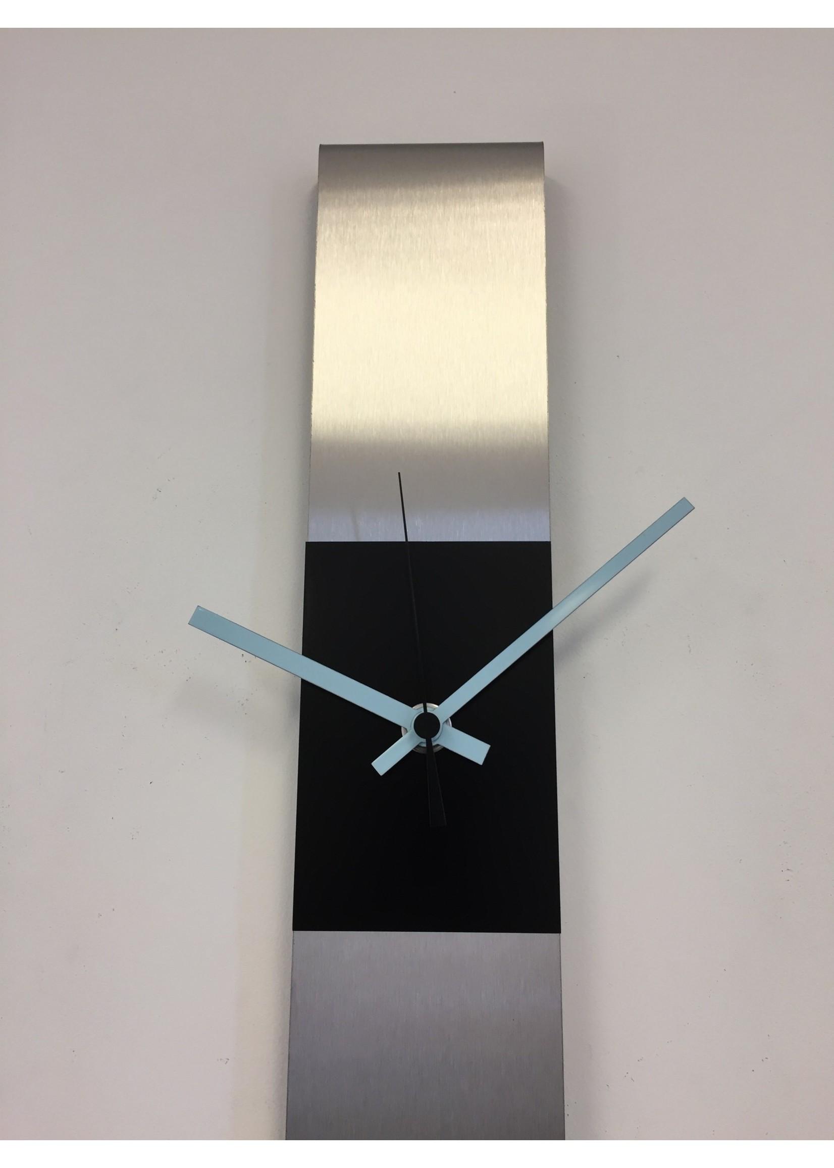 Klokkendiscounter Wandklok SUMMIT DUTCH DESIGN BLACK & BLUE