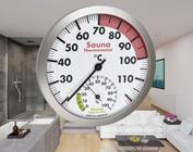 Sauna thermo- en hygrometers