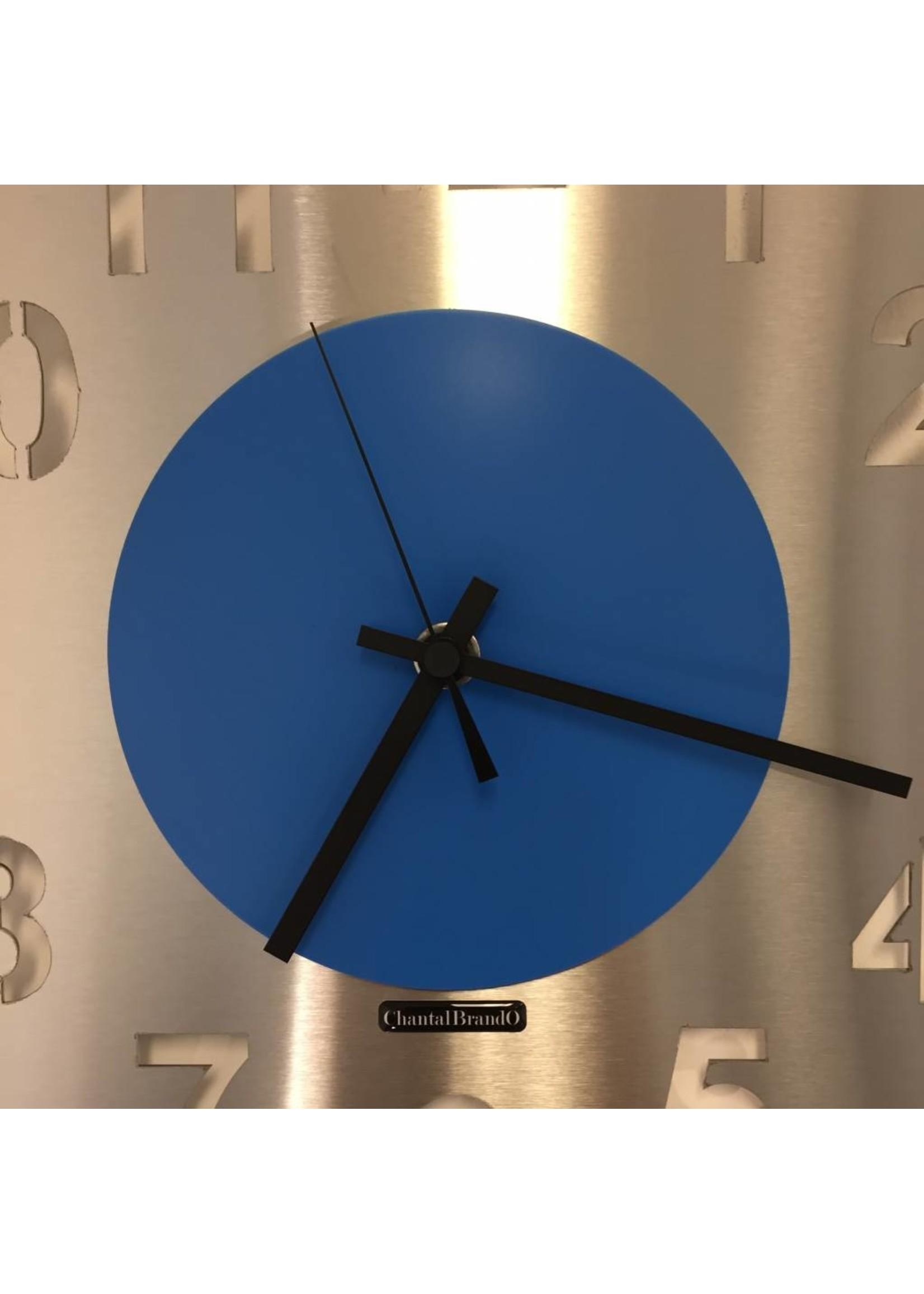 Klokkendiscounter WANDKLOK JUNTE BLUE DESIGN