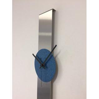 Klokkendiscounter Wanduhr SUMMIT MODERN DUTCH DESIGN Blau Hammer