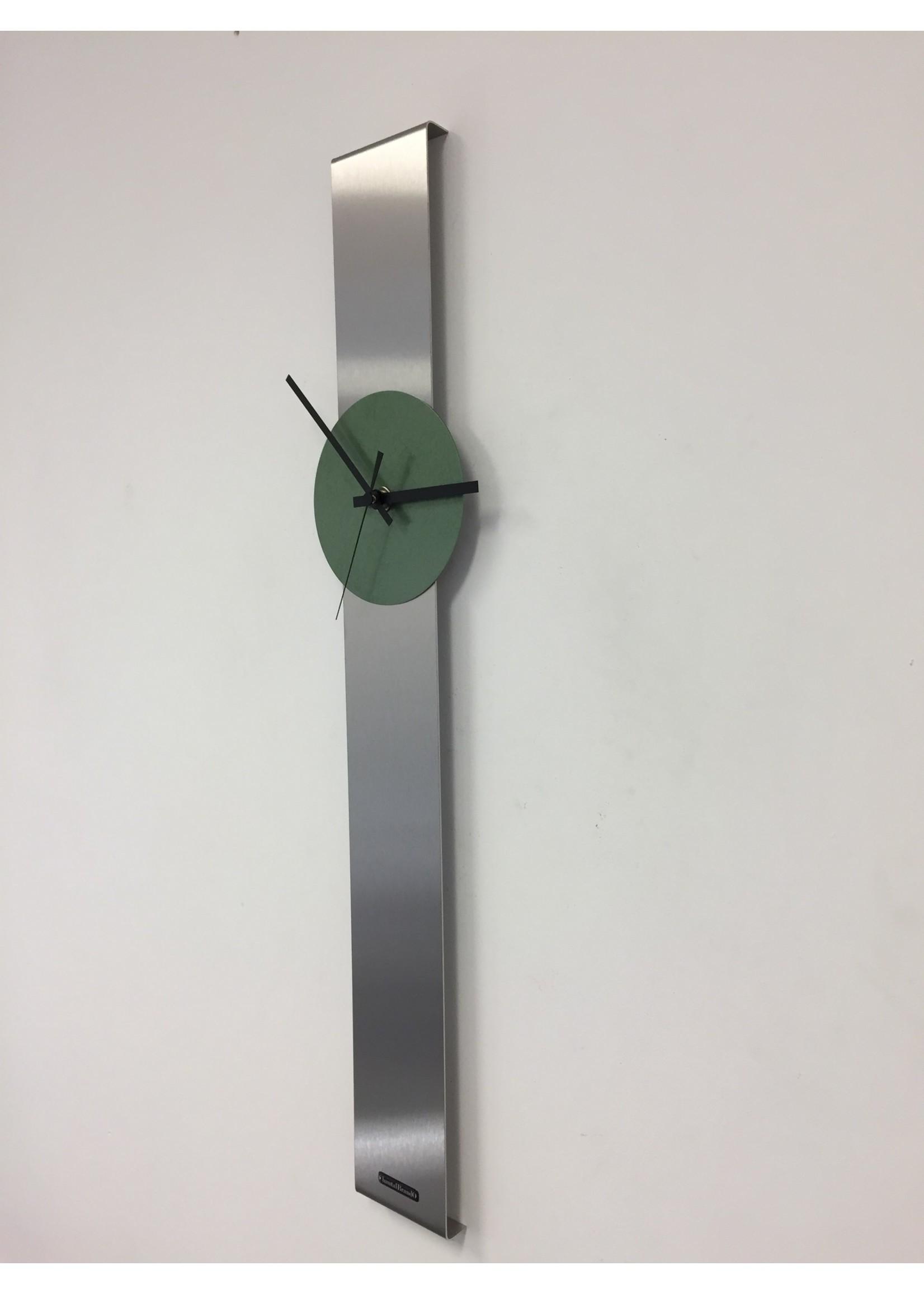Klokkendiscounter Wandklok SUMMIT MODERN DUTCH DESIGN GREEN