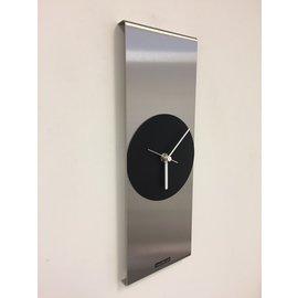 Klokkendiscounter Wanduhr ORION CENTER POINT SCHWARZ modernes Design