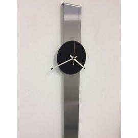 Klokkendiscounter Wanduhr Schwarz SUMMIT XL modernes Design
