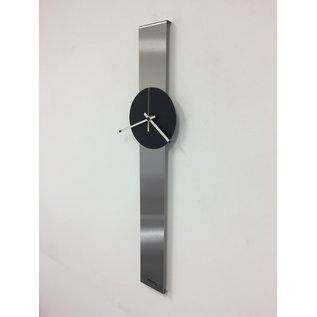 Klokkendiscounter Wandklok SUMMIT Black XL modern Design