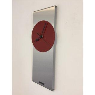 Klokkendiscounter Wanduhr ORION RED & BLACK Moderne Dutch Design