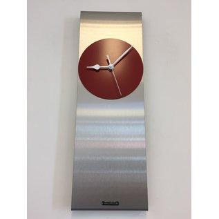 Klokkendiscounter Wandklok Cassiopee RED Modern Dutch Design