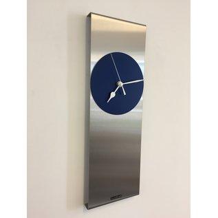 Klokkendiscounter Wanduhr Cassiopee Blau Modern Dutch Design