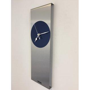 Klokkendiscounter Wandklok Cassiopee BLUE Modern Dutch Design