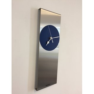 ChantalBrandO Wandklok Cassiopee BLUE Modern Dutch Design