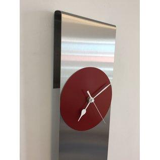 Klokkendiscounter Wanduhr Sky Scraper New York Red Modernes Dutch Design