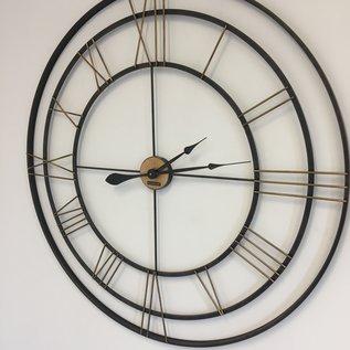 Klokkendiscounter Wanduhr IRON XXL Industrie modernes Design