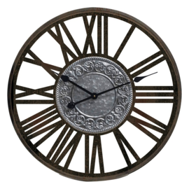 Klokkendiscounter Wandklok IBIZA NUBES Modern Industrieel Design