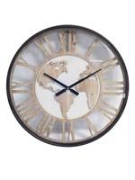 Klokkendiscounter Wandklok WORLD Modern Industrieel Design