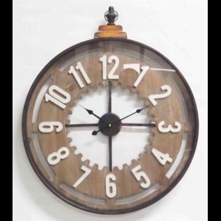 Klokkendiscounter Wanduhr OLD CLOCK Modernes Industrial Design