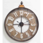 ChantalBrandO Wandklok OLD CLOCK Modern Industrieel Design