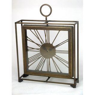 Klokkendiscounter Tafelklok Messing Style Industrieel Design modern