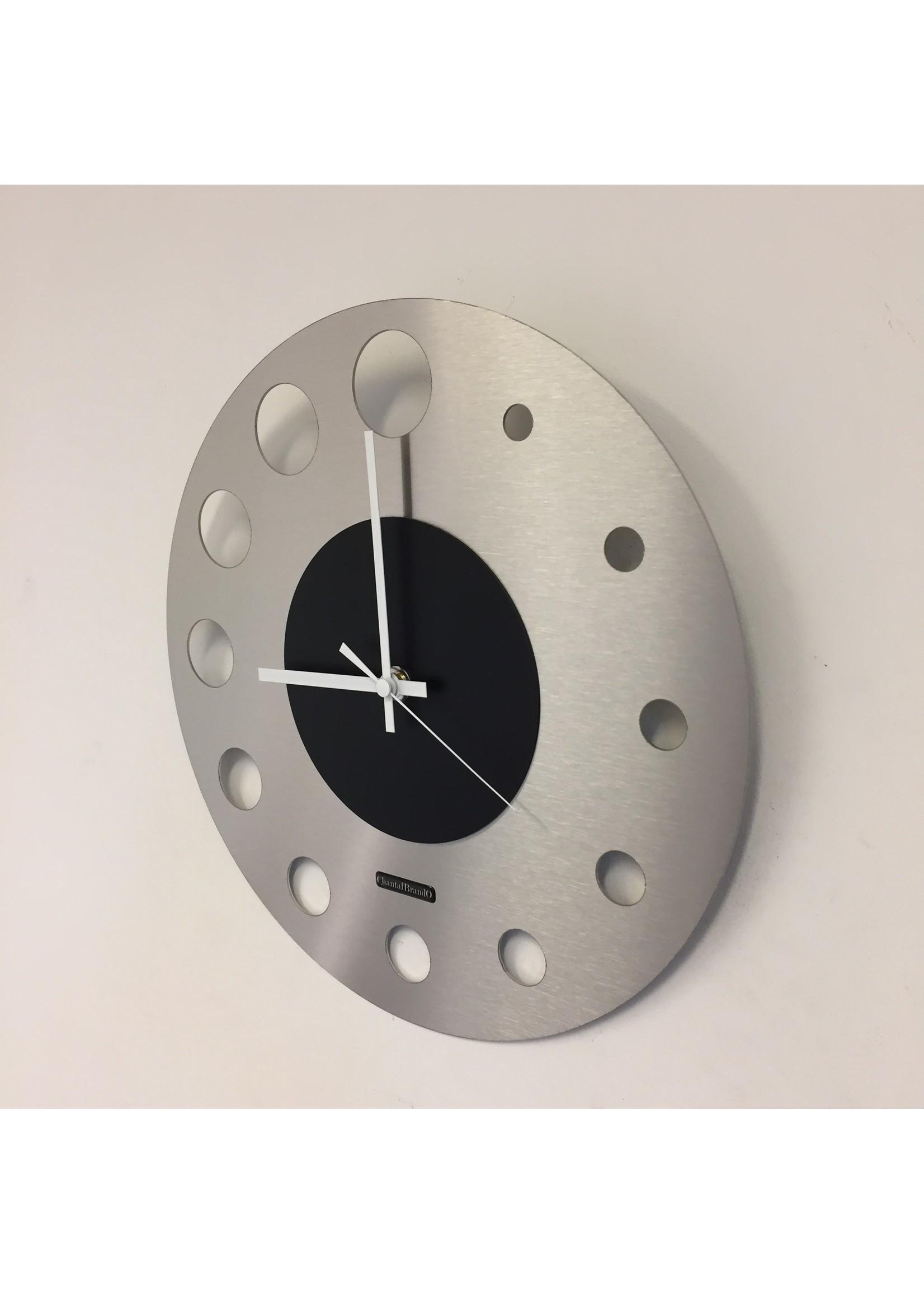 Klokkendiscounter Wandklok JUNTE BRUSSEL ATOMIUM Black Modern Design