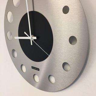 Klokkendiscounter Wanduhr Junte Brussel  Atomium Schwarz Modernes Design