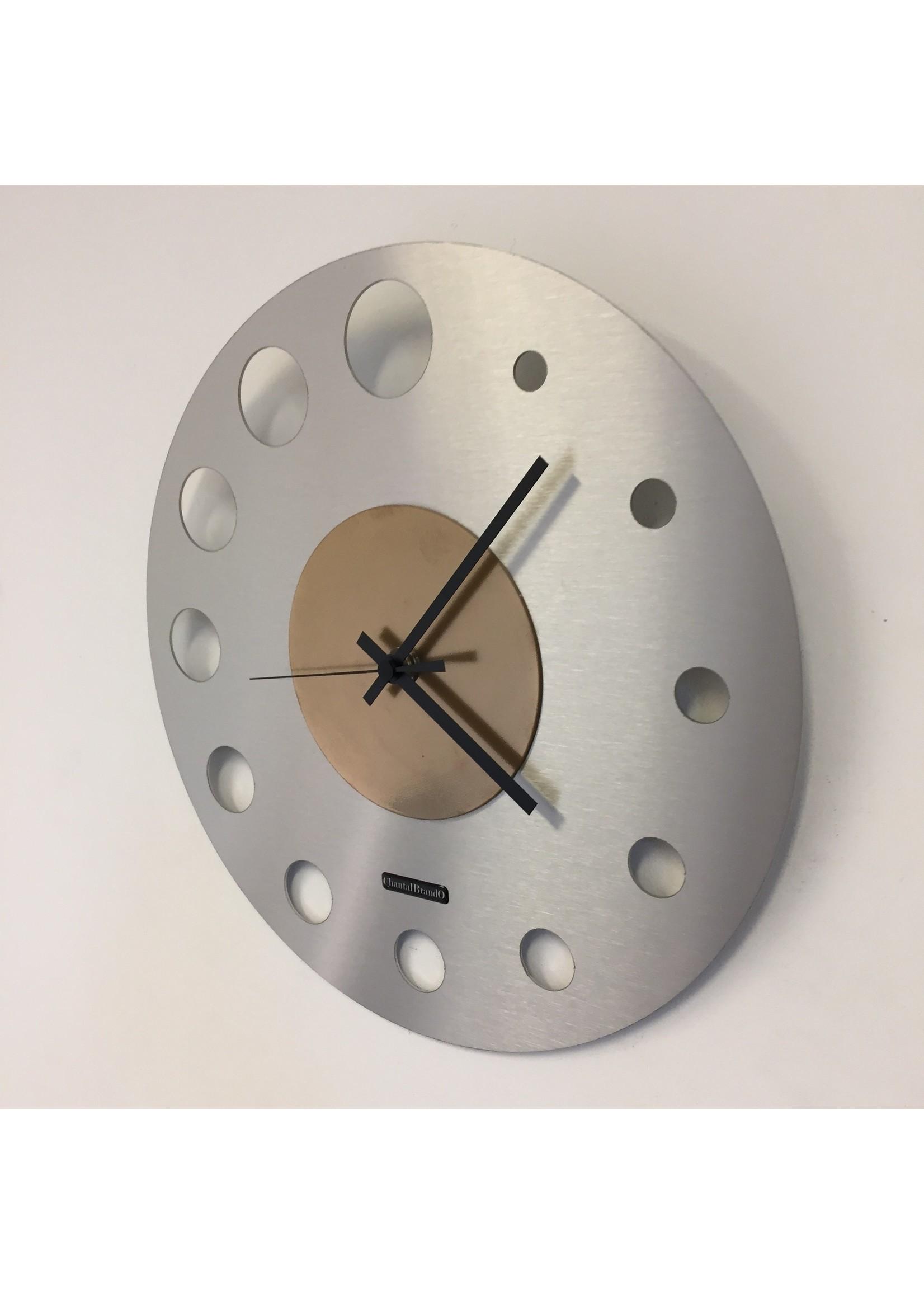 Klokkendiscounter Wandklok JUNTE BRUSSEL ATOMIUM GOLD Modern Design