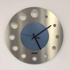 Klokkendiscounter Wandklok JUNTE BRUSSELS ICE BLUE Modern Design