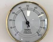 Sauna Thermo- und Hygrometer