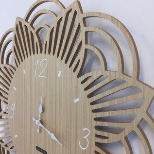 NiceTime Wandklok SUNFLOWER Modern Design