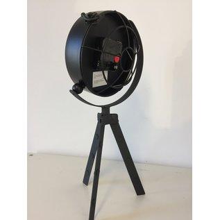 NiceTime Tafelklok Vintage Black Industrieel Design