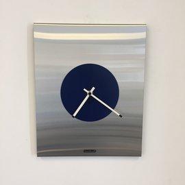 ChantalBrandO Wandklok Time Square New York in BLUE Modern Dutch Design