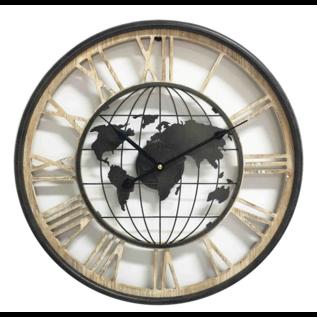 Saramax Wandklok The World Modern Industrieel Design