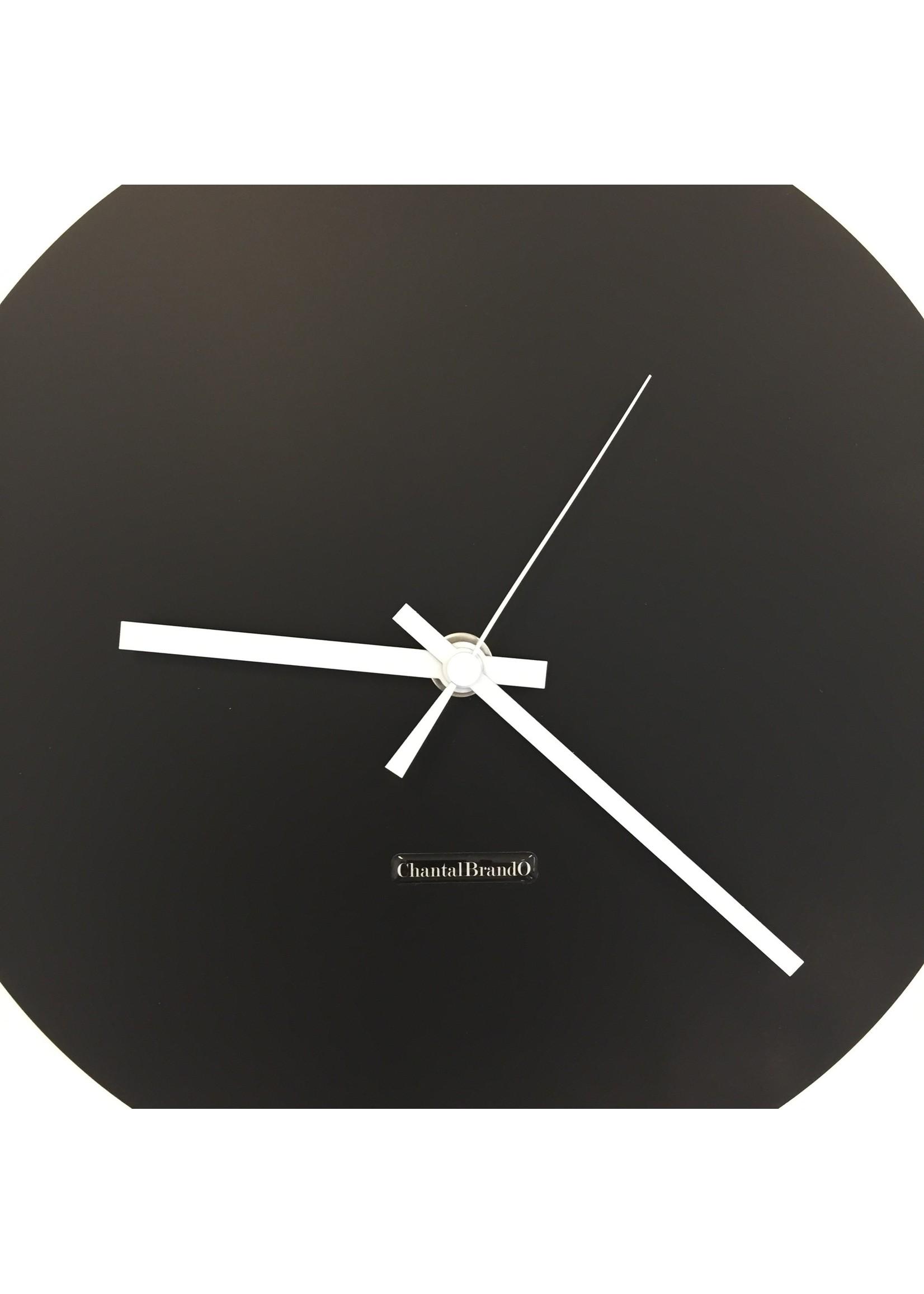 ChantalBrandO Wandklok BLACK BEAUTY Modern Dutch Design
