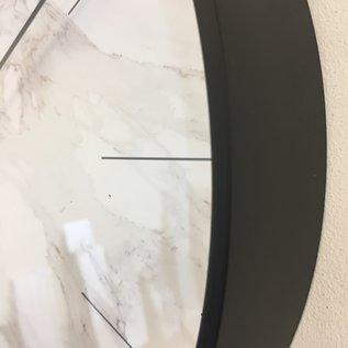 NiceTime Wandklok MARMER zwart Modern DUTCH DESIGN