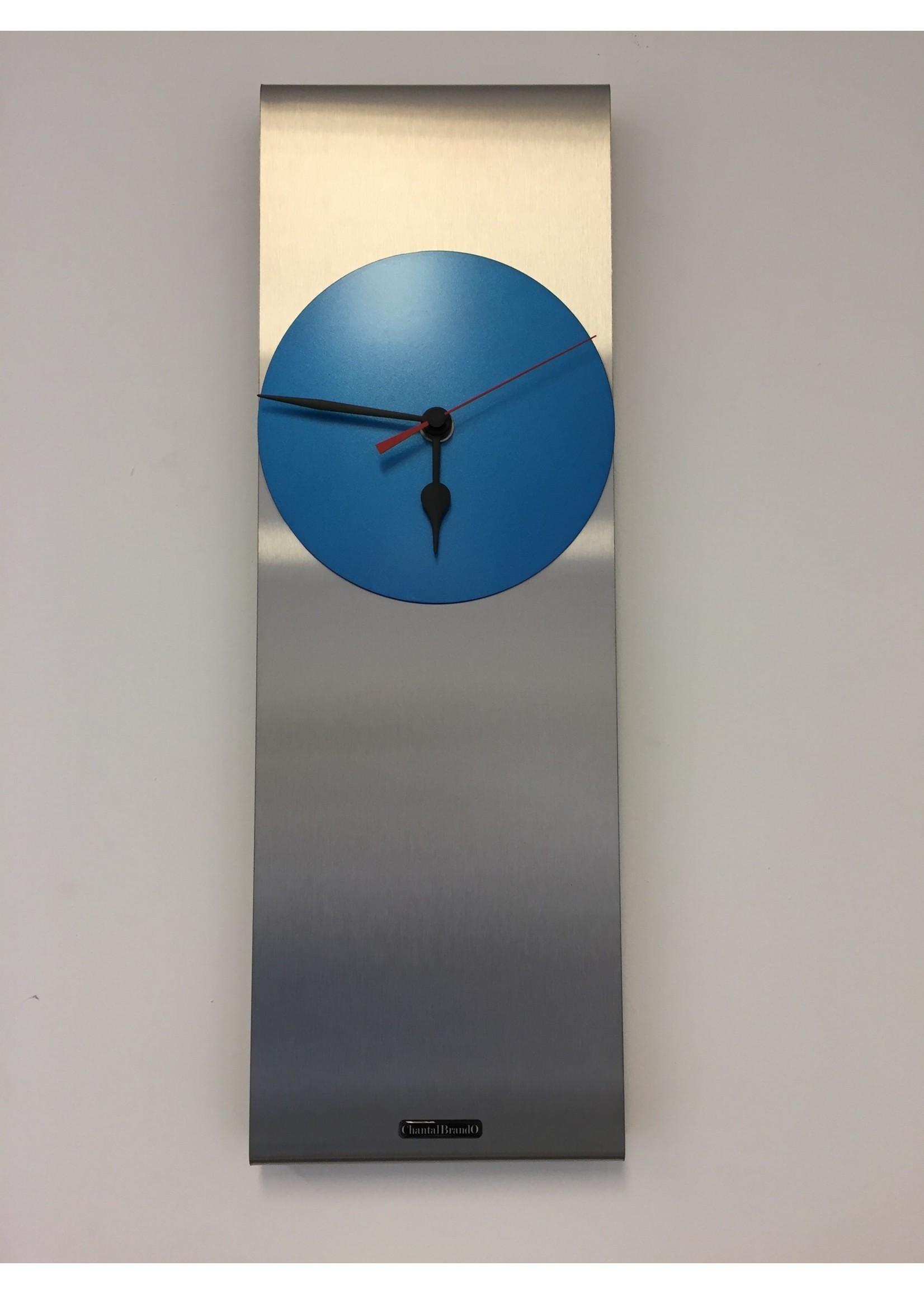ChantalBrandO Wandklok ChantalBrando Cassiopeia ARTIC BLUE modern design