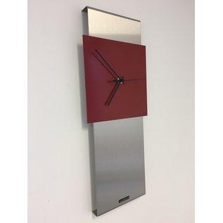 ChantalBrandO Wandklok ChantalBrando JADA RED modern design