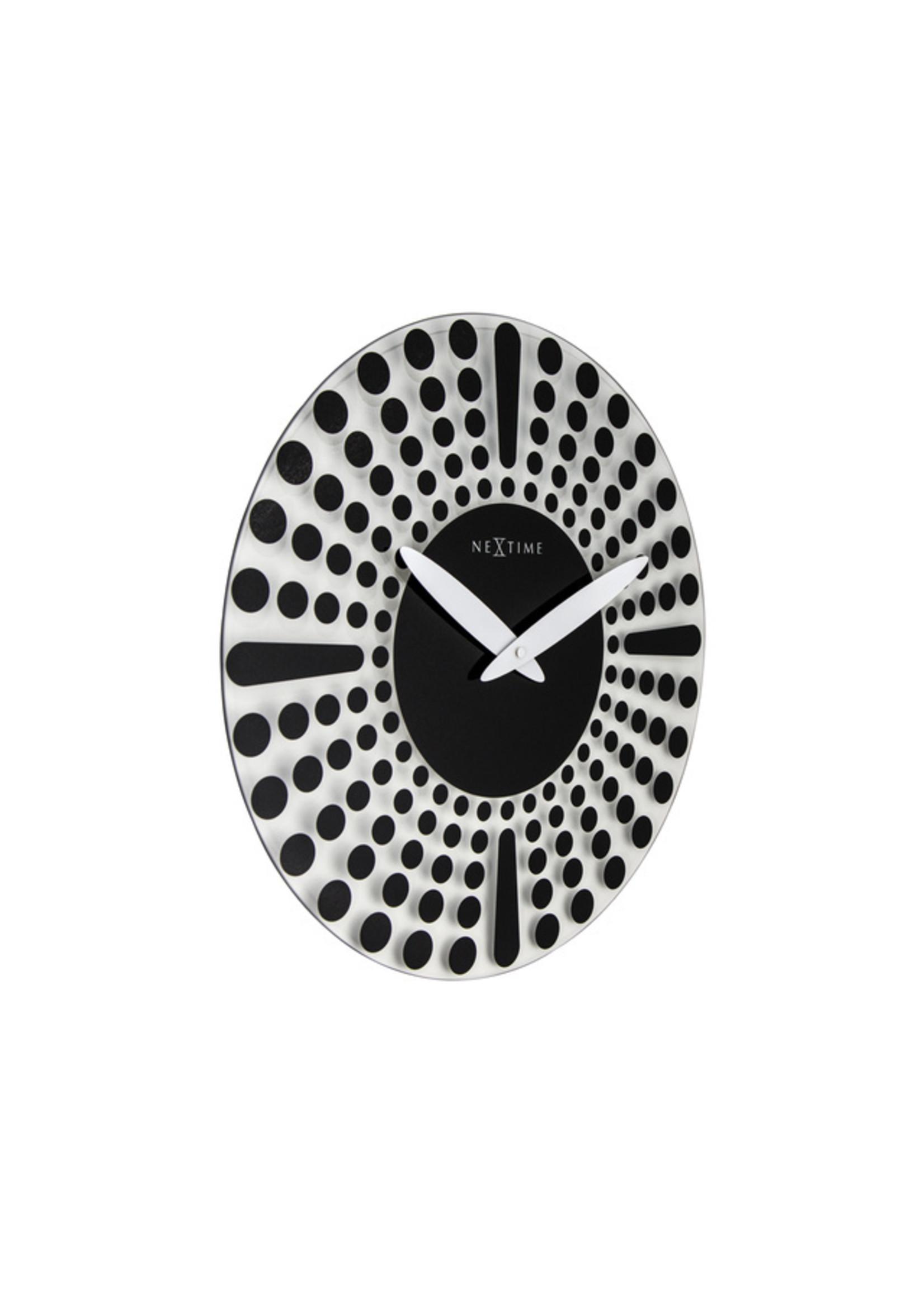 NXT Wandklok TIME modern design