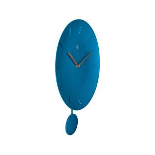 NXT Wandklok Pendel BLUE