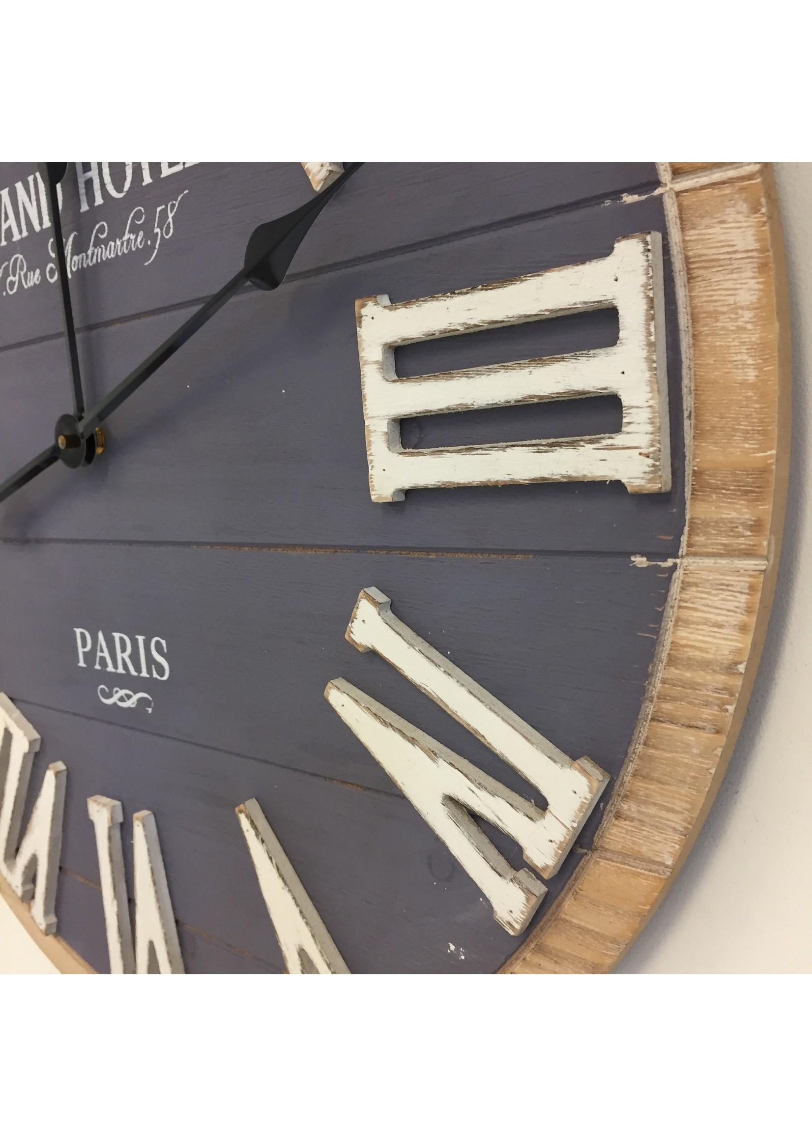 Wandklok Montmartre Industrieel design
