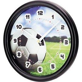 Saramax Kinder wandklok met voetbal