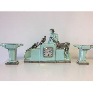 ChantalBrandO Tafelklok set ODYV Art Deco